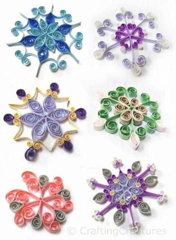 DIY Fairy Snowflakes To Make With Your Kids For Christmas Decor | Kidsomania