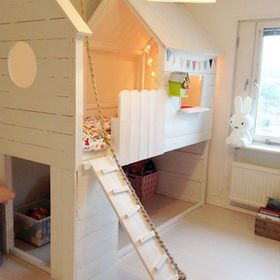 海外DIYハック】子供部屋の二段ベッドがオシャレすぎる