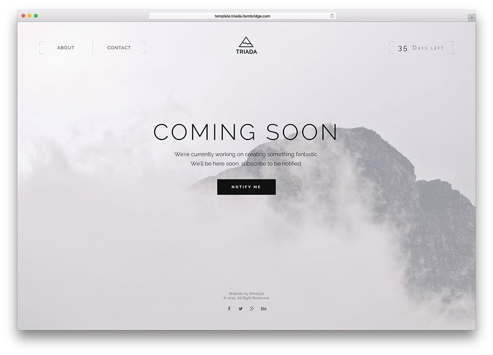 23 Best Responsive Coming Soon Page Templates 2020 Colorlib Landing Page Inspiration Under Construction Website Coming Soon Page