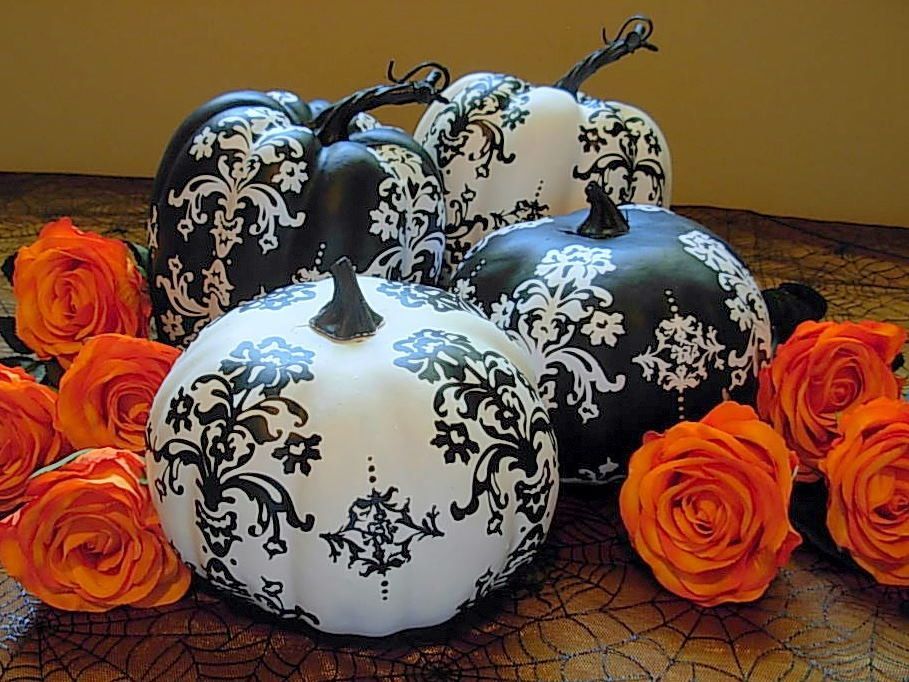 Happy Halloween ) Calabazas originales, Decoraciones de