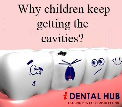 Why children keep getting the cavities?