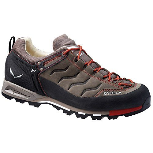 Salewa Men's Mountain Trainer Leather Shoes Bungee Cord / Firebrick 12.5 *  For more information,