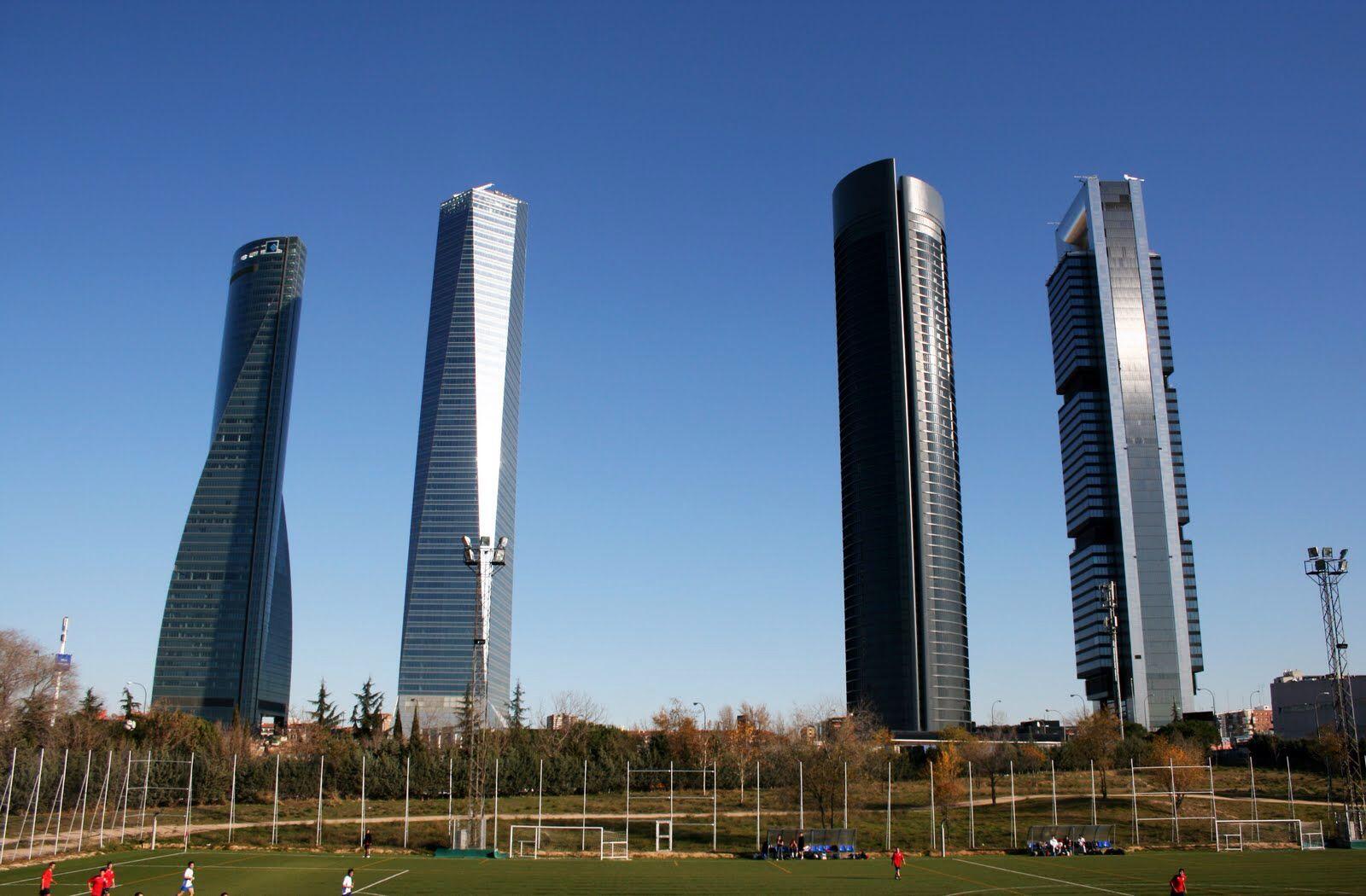 torres de madrid arquitectos norman fostertorre bankia