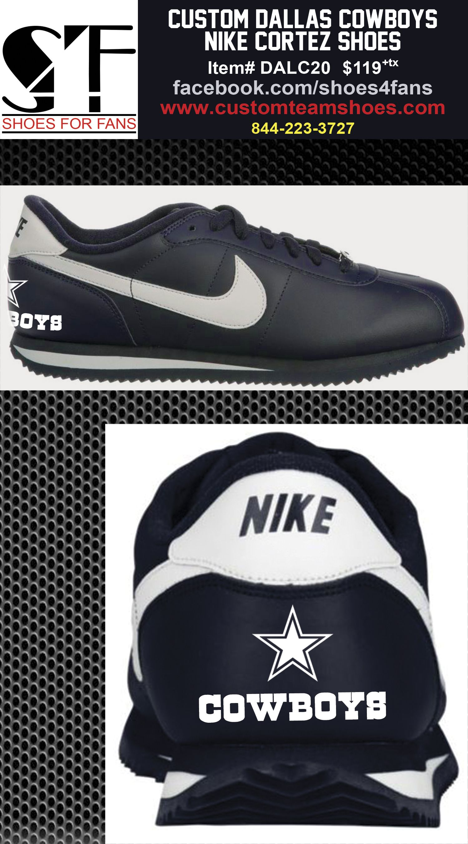 pin by shoes4fans on dallas cowboys footwear pinterest