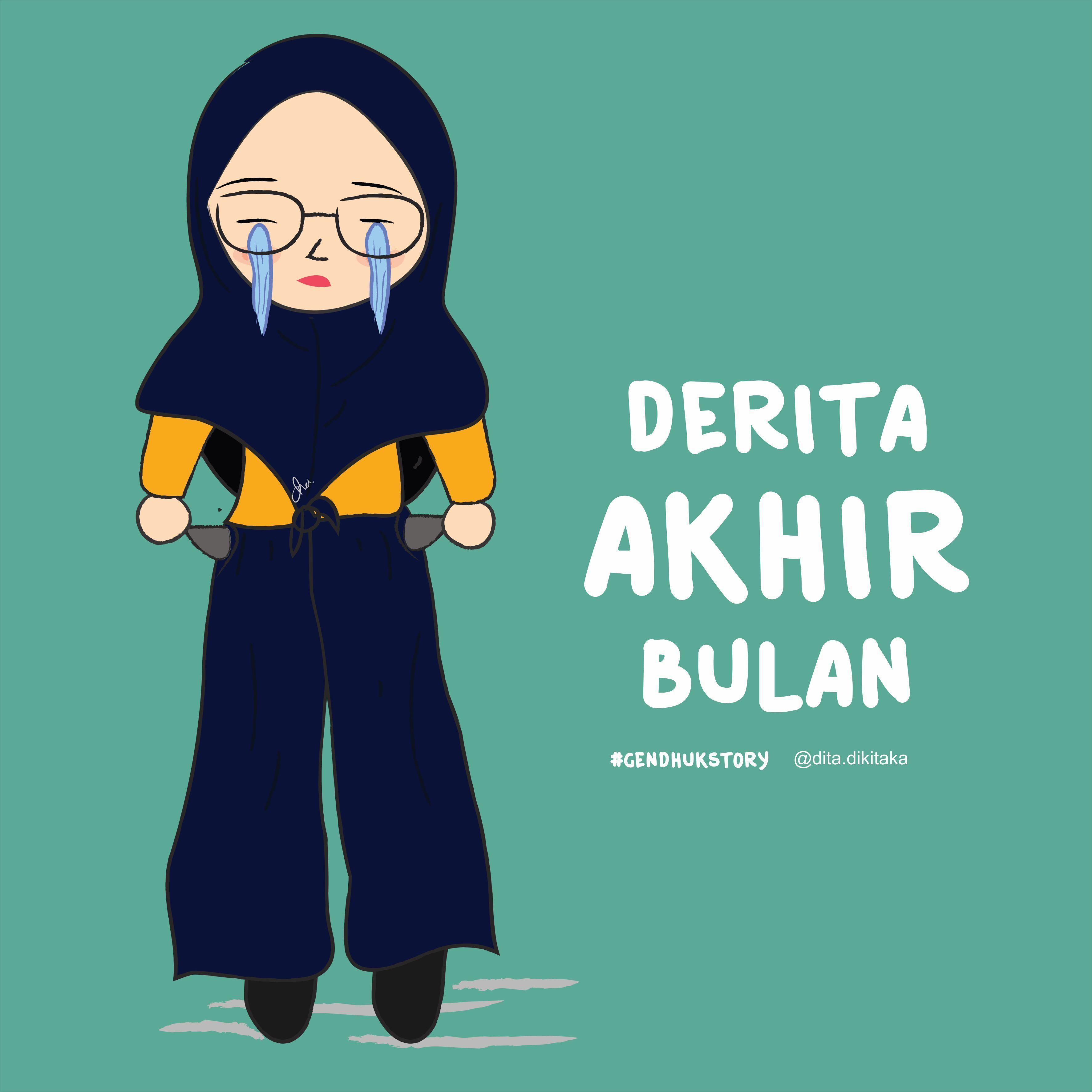 59 Foto Kartun Remaja Islami Himpun Kartun