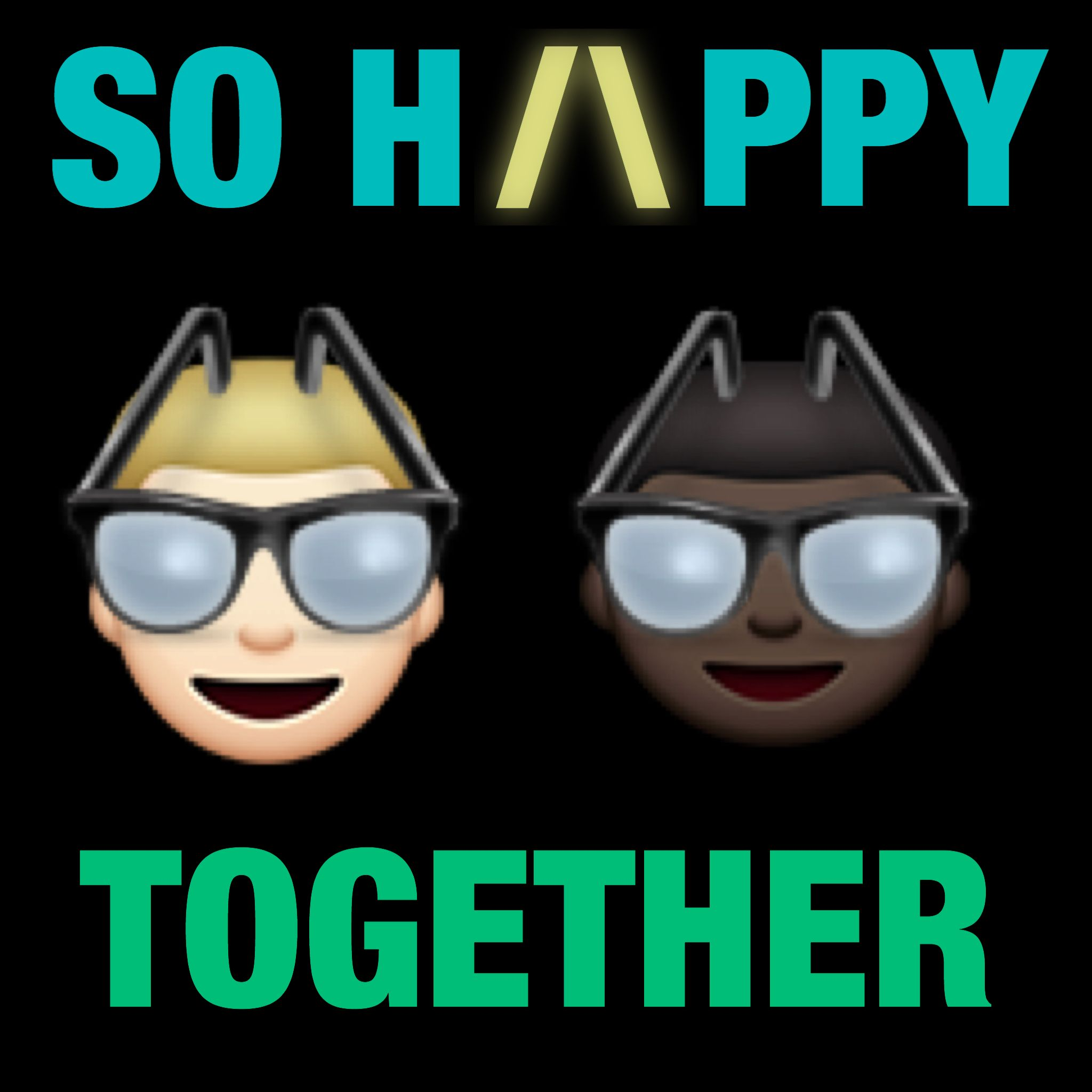 We need more emoticons wearing glasses! Wearing glasses