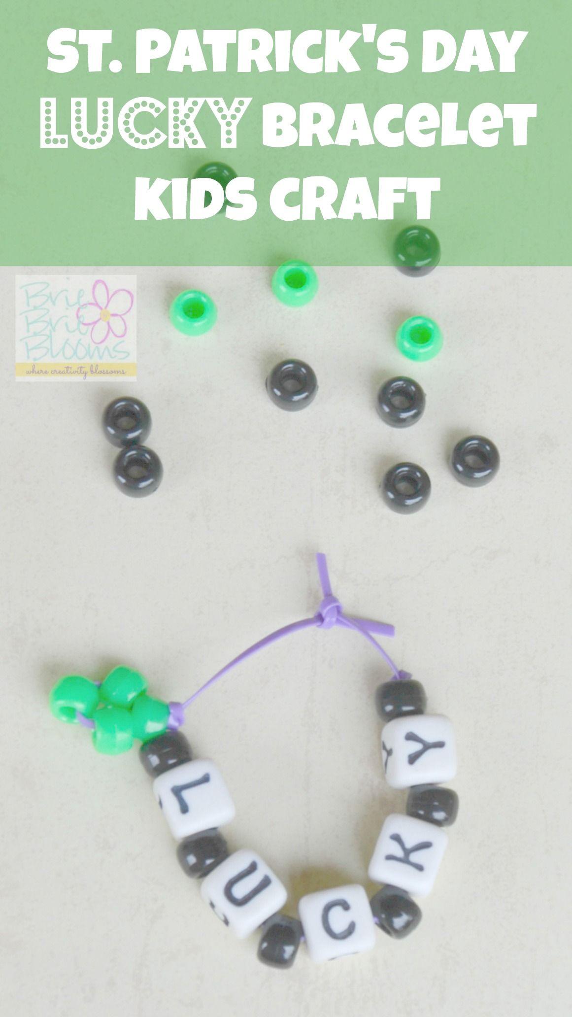 St Patrick S Day Kids Craft Lucky