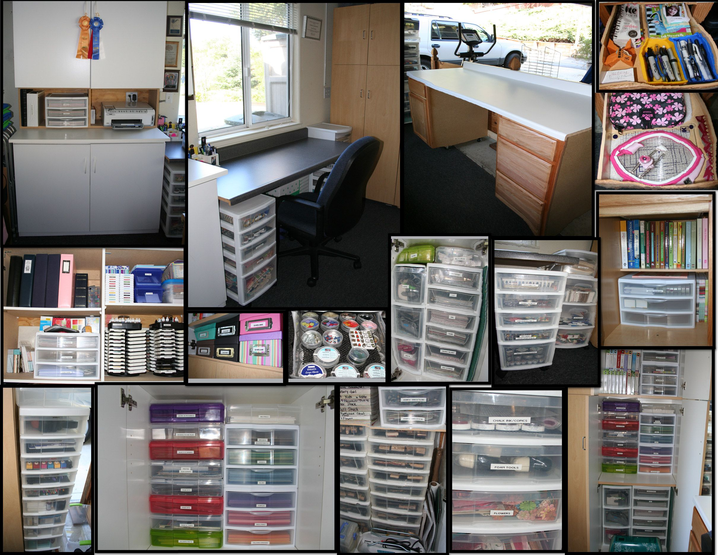 Pin By Carrie D On Things I Ve Made Done Craft Room Craft Room Office Space Crafts