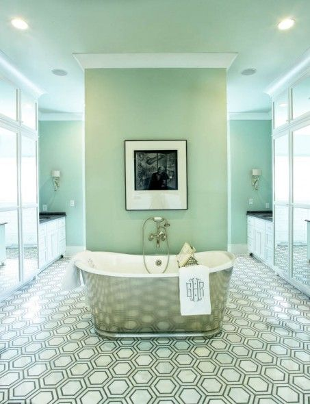 1940s hollywood glamour bathroom in nashville o 39 more show - Interior design school nashville ...