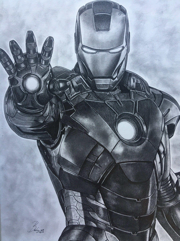 How To Draw Iron Man Mark 85 Iron Man Drawing Iron Man Art Spider Man Drawing Sketches