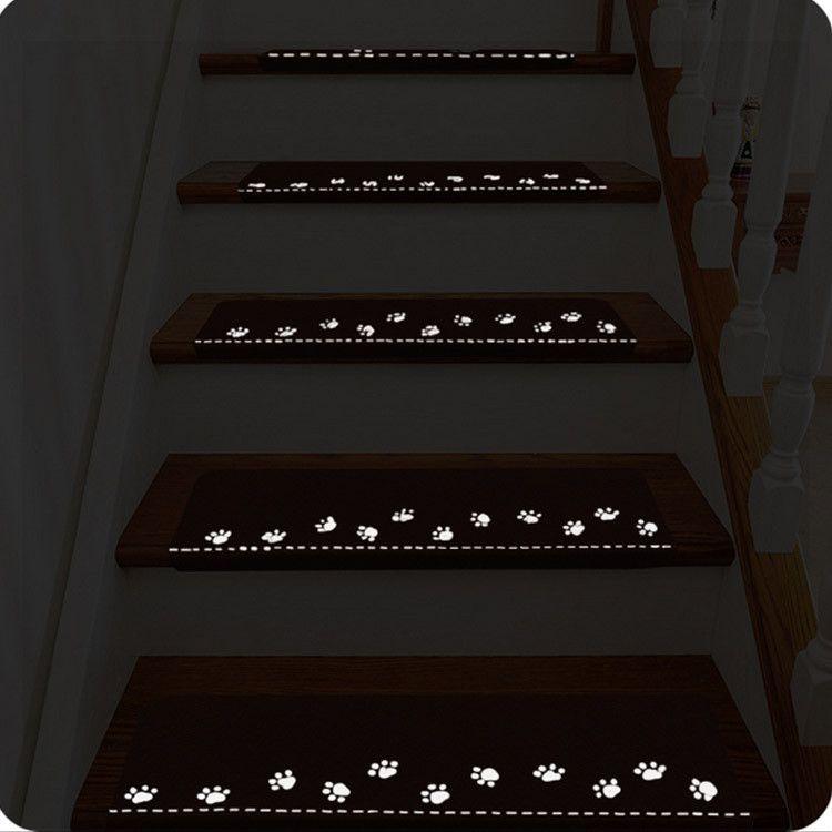 Honana Wx M3 Leuchtende Treppenmatte Schrittboden Teppich Easy Clean Door Anti Rutsch Matten Selbstklebender Teppich Heimtextilien From Haus Und Garten On Bangg Stair Mats Stair Treads Rugs On Carpet