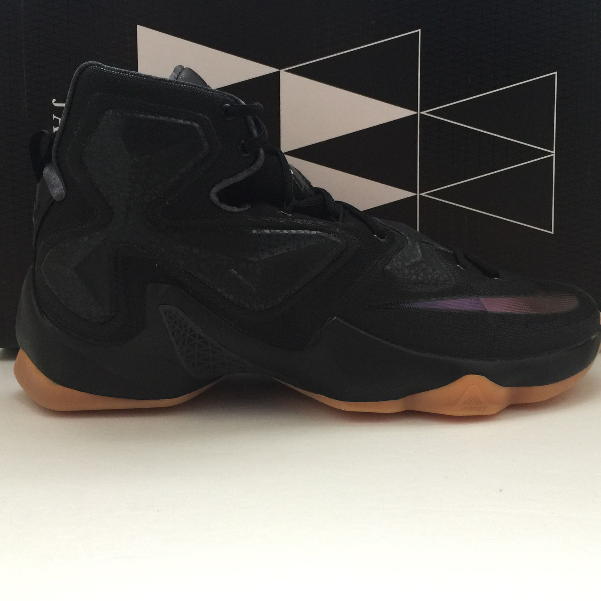 premium selection e551c 69c55 Name  Nike Lebron 13 XIII Black Lion Gum Size  13.5 Condition  New   OG Box  Style Code  807219 001 Year  2016