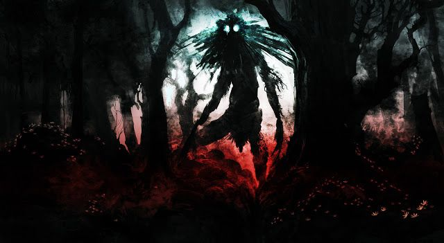Slender Man Creepy Wallpaper NEway