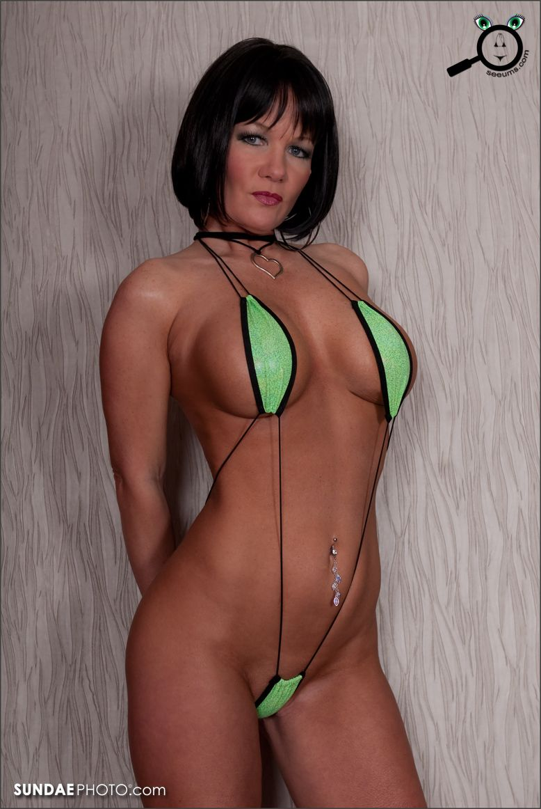 bikini Micro girls sling