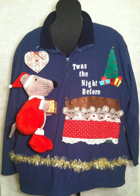 Ugly Christmas Sweater Size 2xlt This Daddy Is On The Job The Night