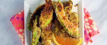 Avocado Fries with Ancho Chile and Orange Zest Recipe