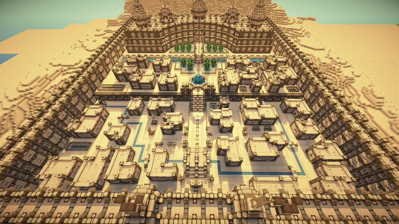 Desert City Minecraft Project | Minecraft projects ...