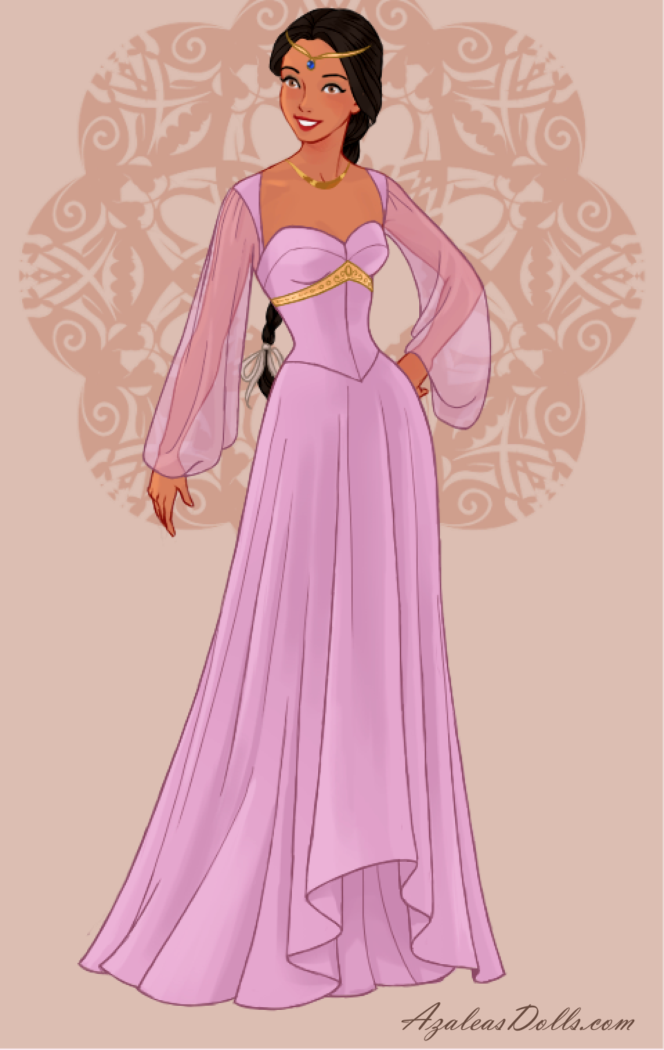 Princess Jasmine In Wedding Dress Design Dress Up Game Princess Jasmine Designer Wedding Dresses Princess [ 1518 x 960 Pixel ]