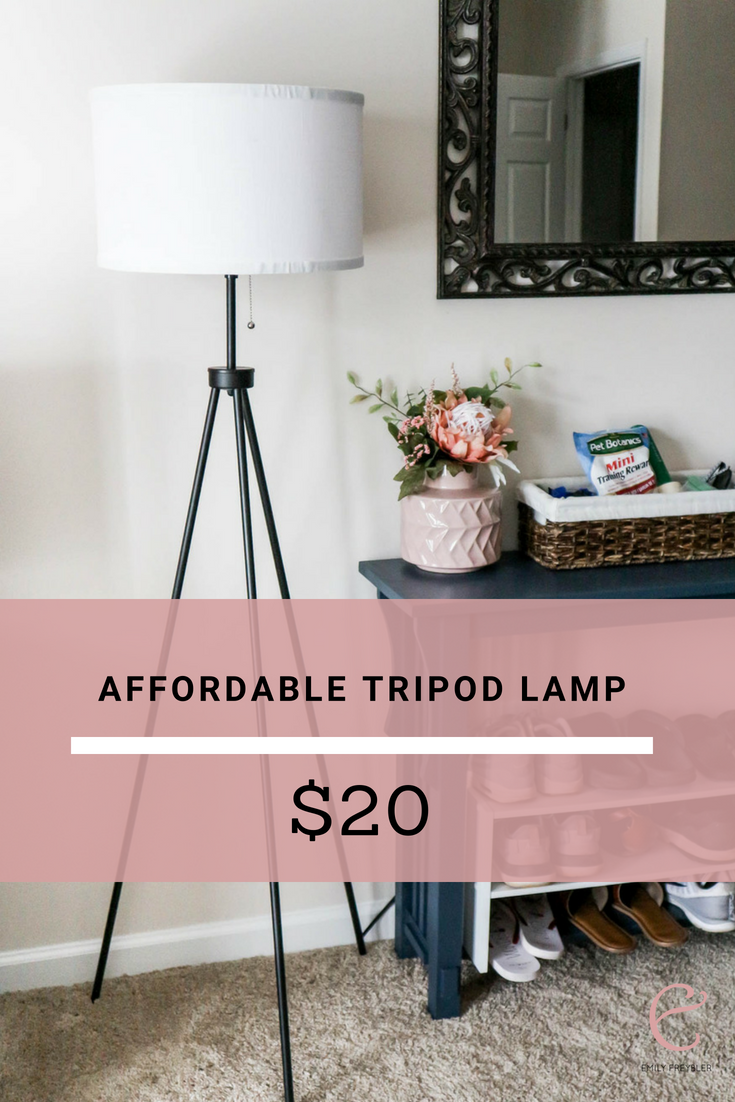 Cheap Trendy Tripod Floor Lamp Apartment Decorating On A