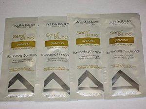 Amazon.com : Alfaparf Semi Di Lino Diamante - Illuminating Conditioner Travel Packs - 0.33 Oz (Pack of 4) : Beauty
