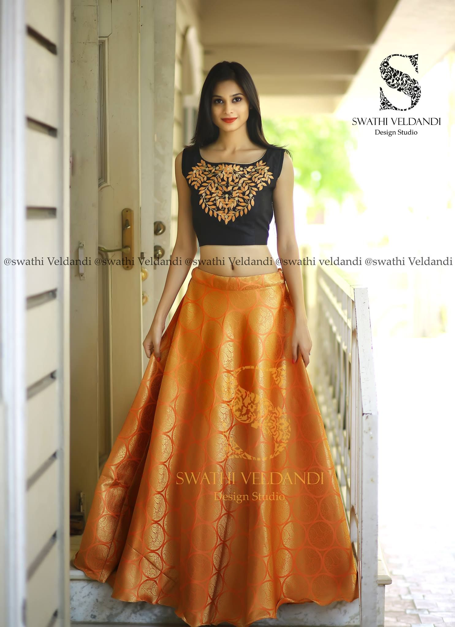 Swathi veldandi bridal bloom the perfect combination of outfits for