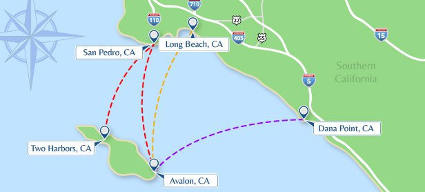 Schedule Fares Catalina Express Backpacking Guide San Diego Travel Hiking Trails California