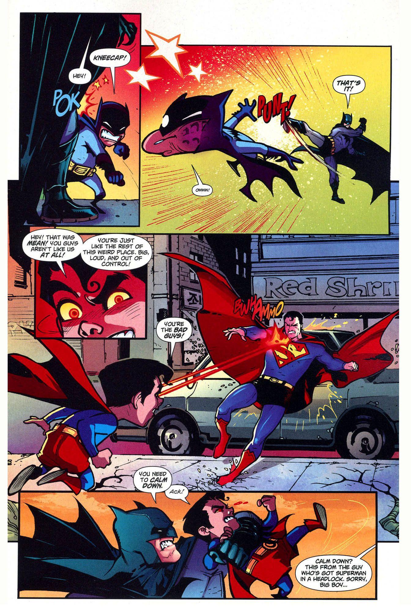 Superman And Batman Vs Mini Justice League Batman Vs Batman Superman
