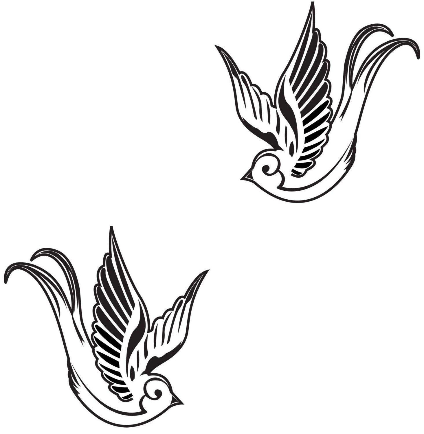 Swallow Tattoo Designs for Women | All About 12: Sparrow ... - photo#35