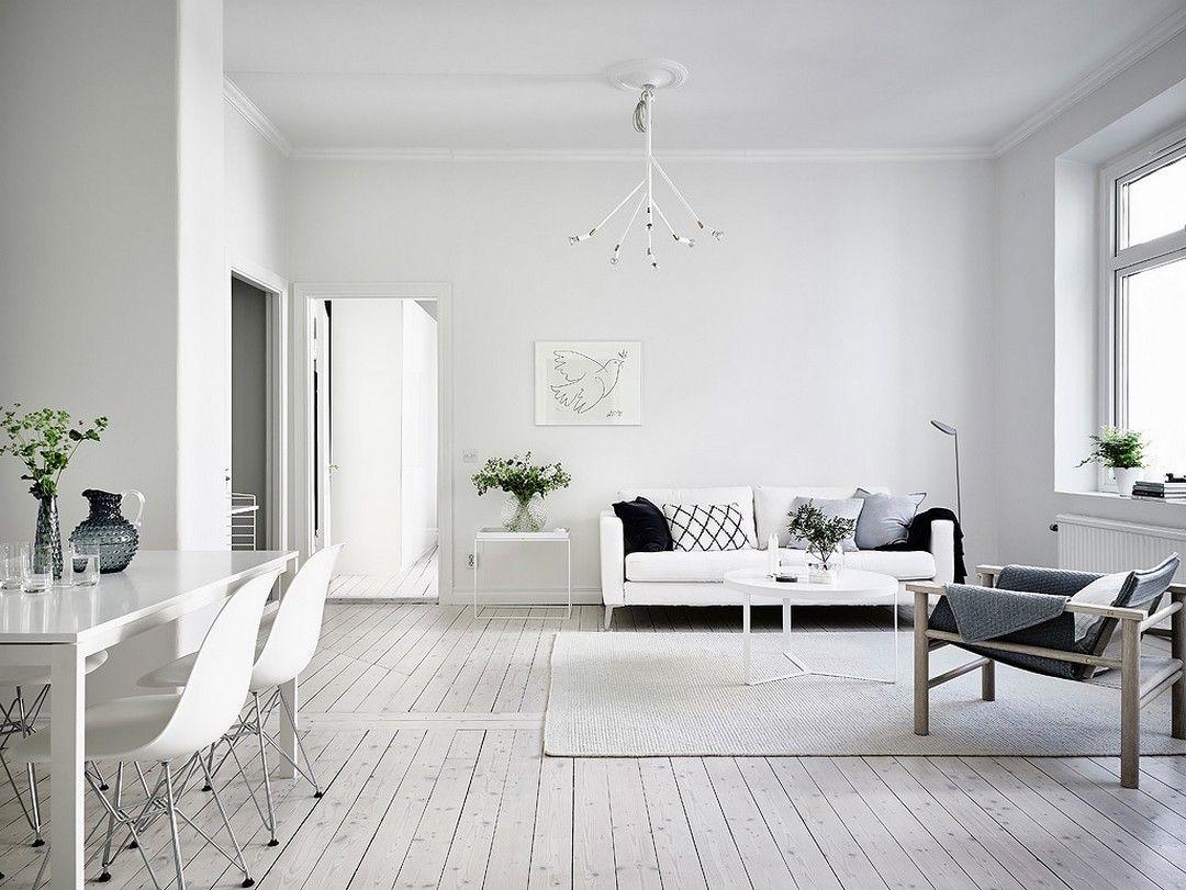 Source Fraiche Modern Apartment Decor Living Room White