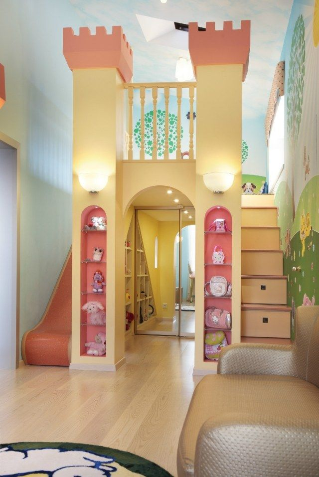 m dchen kinderzimmer prinzessin einrichtungsideen kinder zimmer kinderzimmer und. Black Bedroom Furniture Sets. Home Design Ideas