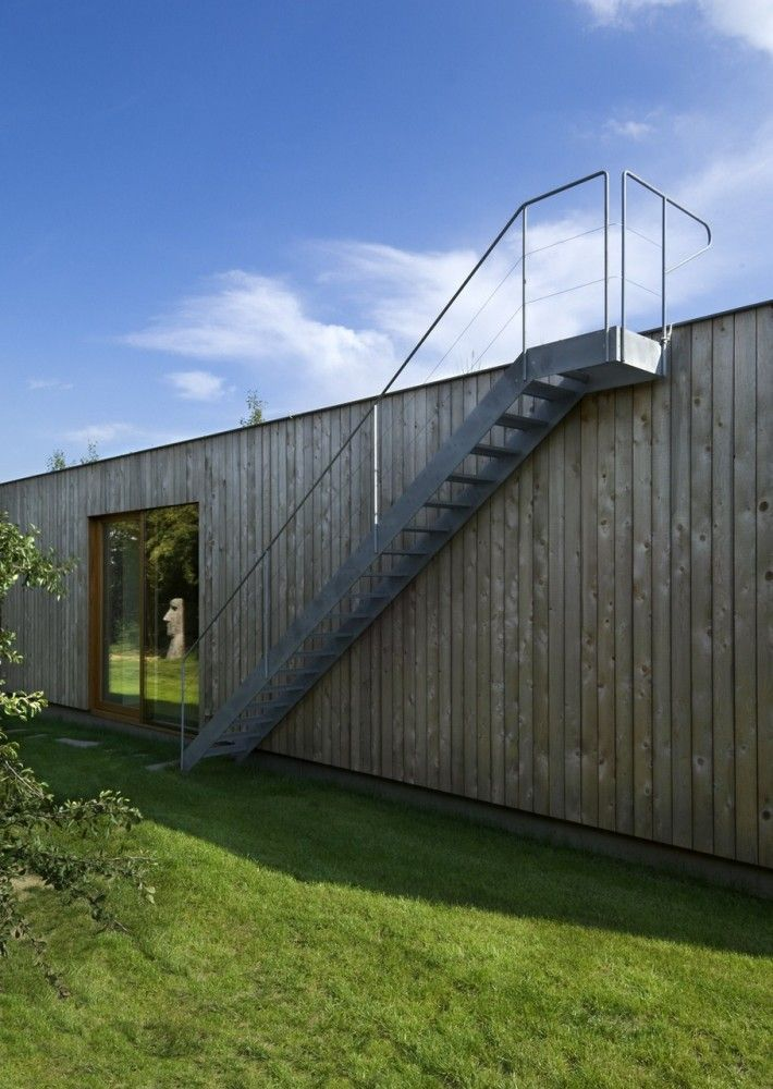 Remarkable Weekend House By Marketa Cajthamlova Writing Houses: Image Of  Interesting Czech Republic Weekend House 10