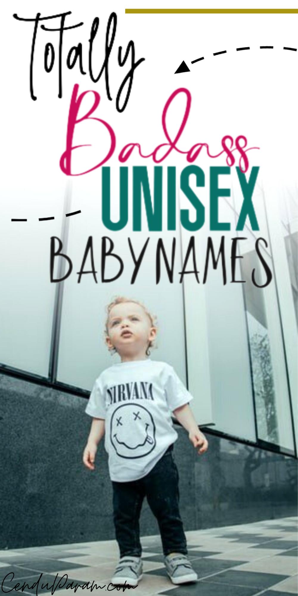 Cutest Unisex Gender Neutral Baby Names