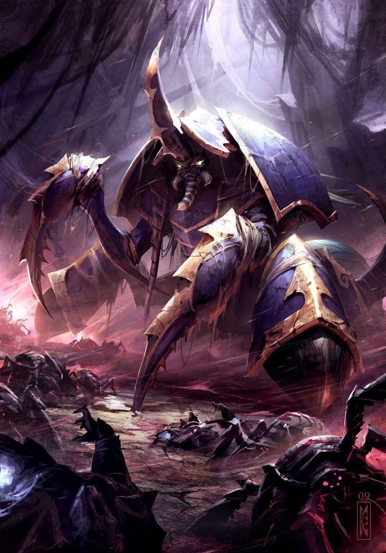 Anubarak Warcraft Art Warcraft Dota Dota 2 Wallpaper