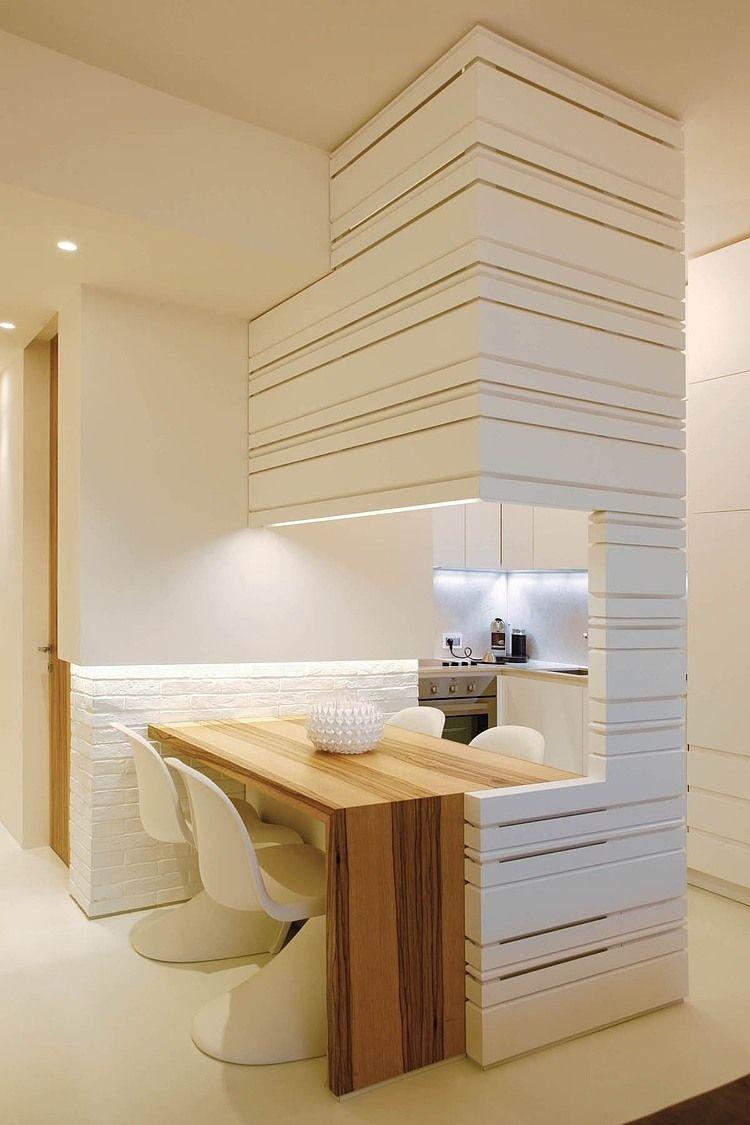 Küche mit Essplatz für kleine Wohnungen | Küchen | Pinterest ...