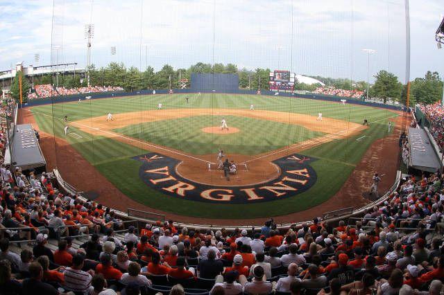 Davenport Field University Of Virginia Uva Sports Baseball Stadium