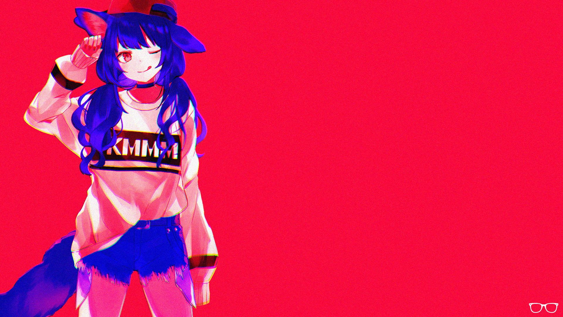 Pin On Wall Anime wallpaper blue and red