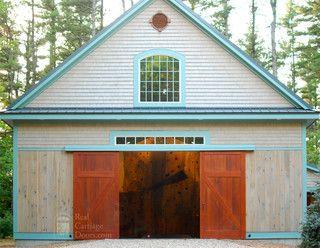 Sliding Barn Doors On Home Gymnasium Exterior Sliding Barn Doors Barn Doors Sliding Garage Door Design