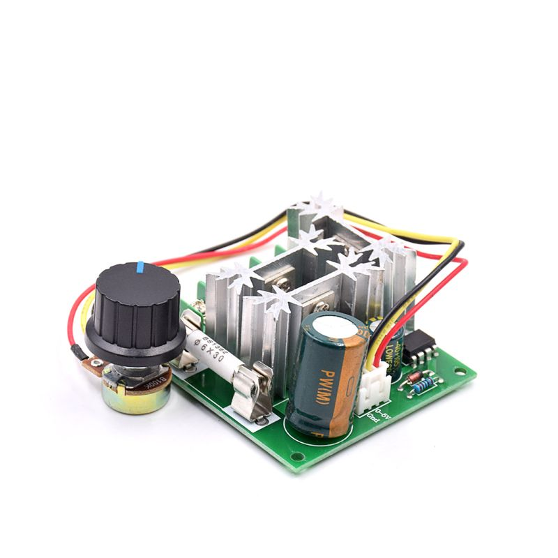 Switches Nice Universal Dc10-60v 20a Pwm Hho Rc Motor Speed Regulator Controller Switch