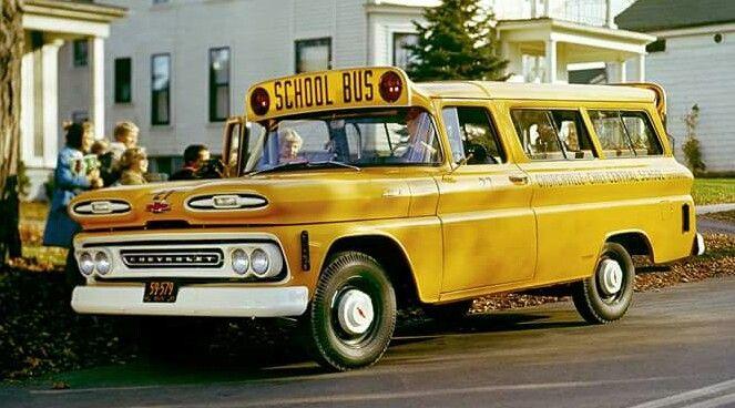 1960 Chevrolet Suburban Carryall School Bus Chevrolet Suburban
