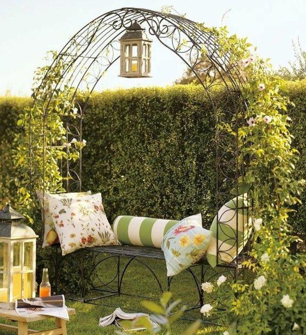 Gartenideen bilder  gartendekorationen gartenlaube Gartenideen garten bilder | Garden ...