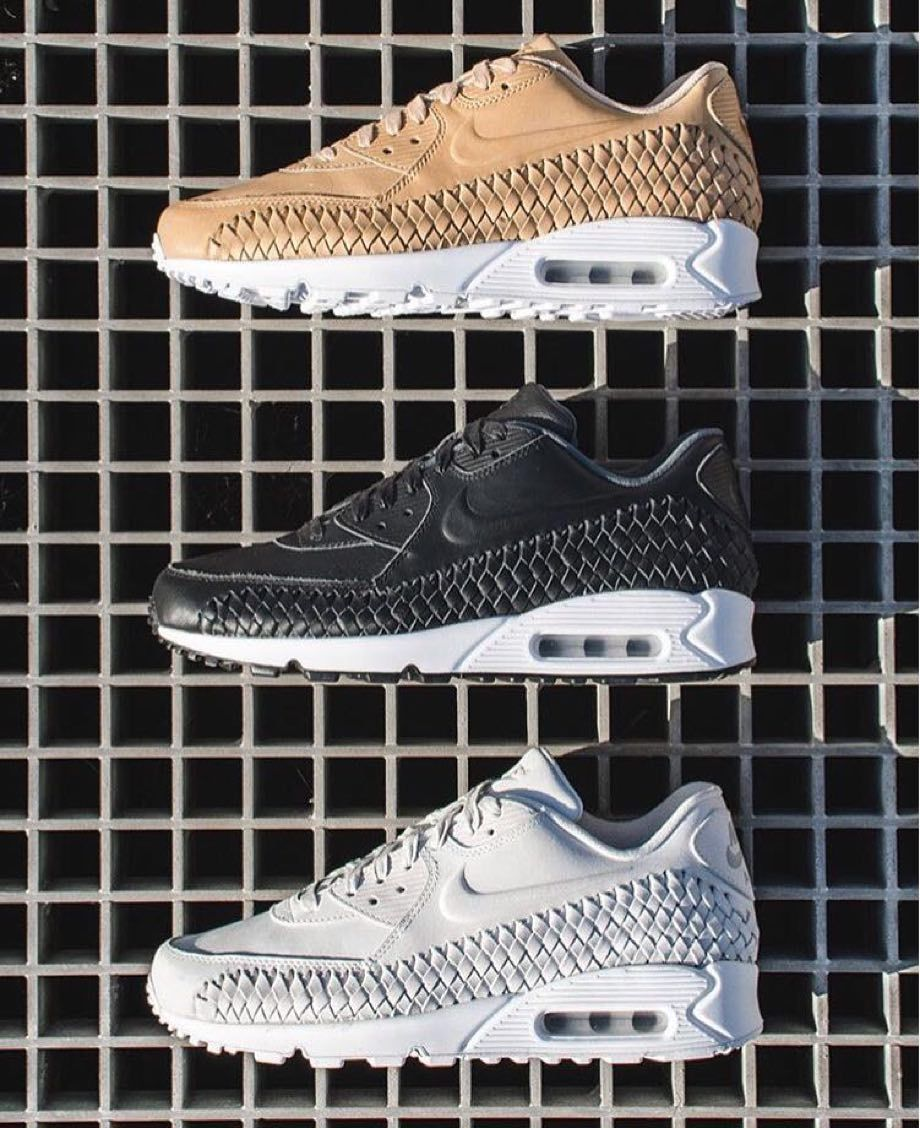 the latest 96115 6e34d Nike Air Max 90  Woven Pack