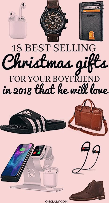 Are You Struggling to Decide What to Get Your Boyfriend for Christmas? Try one of these Best Selling gift ideas for men of all ages, from teenage to adults that all guys will LOVE. These awesome Christmas gifts for boyfriend are unique, meaningful and guaranteed to make him love you more! #christmasgifts #giftsforhim #giftsforboyfriend #christmasgiftideasforboyfriend