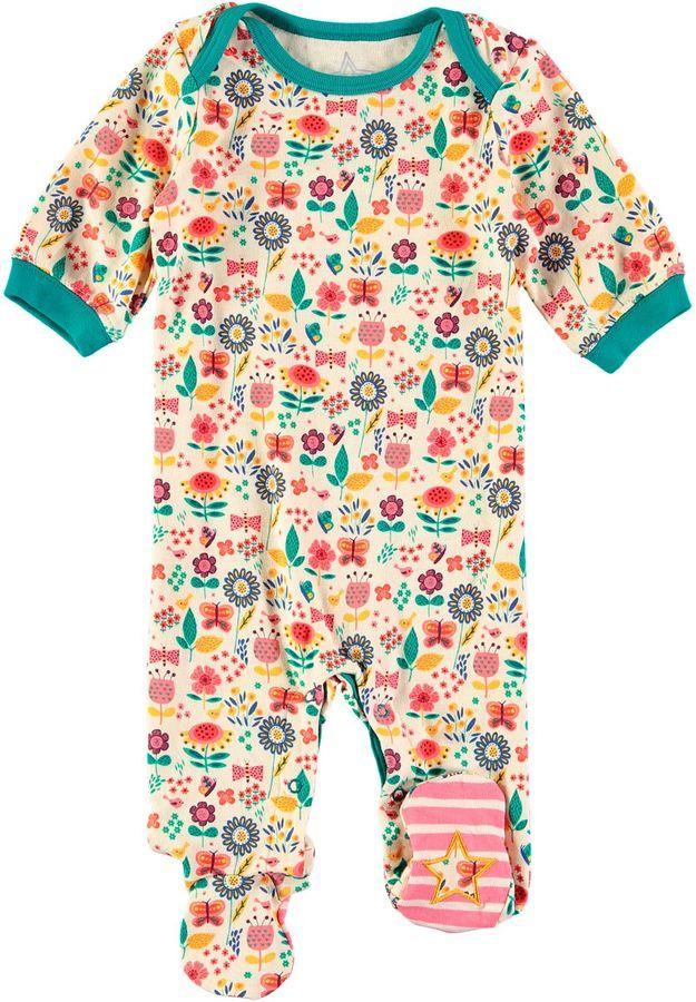 c1f01d8a7eea Rockin  Baby Girls Garden Print Onesie