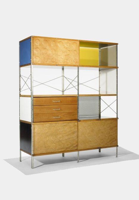 Ray U0026 Charles Eames, ESU 420 C Eames Storage Unit, 1953. For