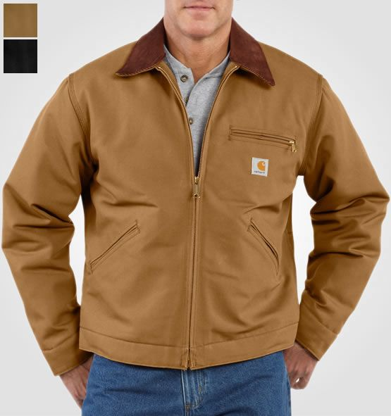 9adc6626 Carhartt Duck Detroit Jacket in 2019 | Fashion | Traditional jacket ...
