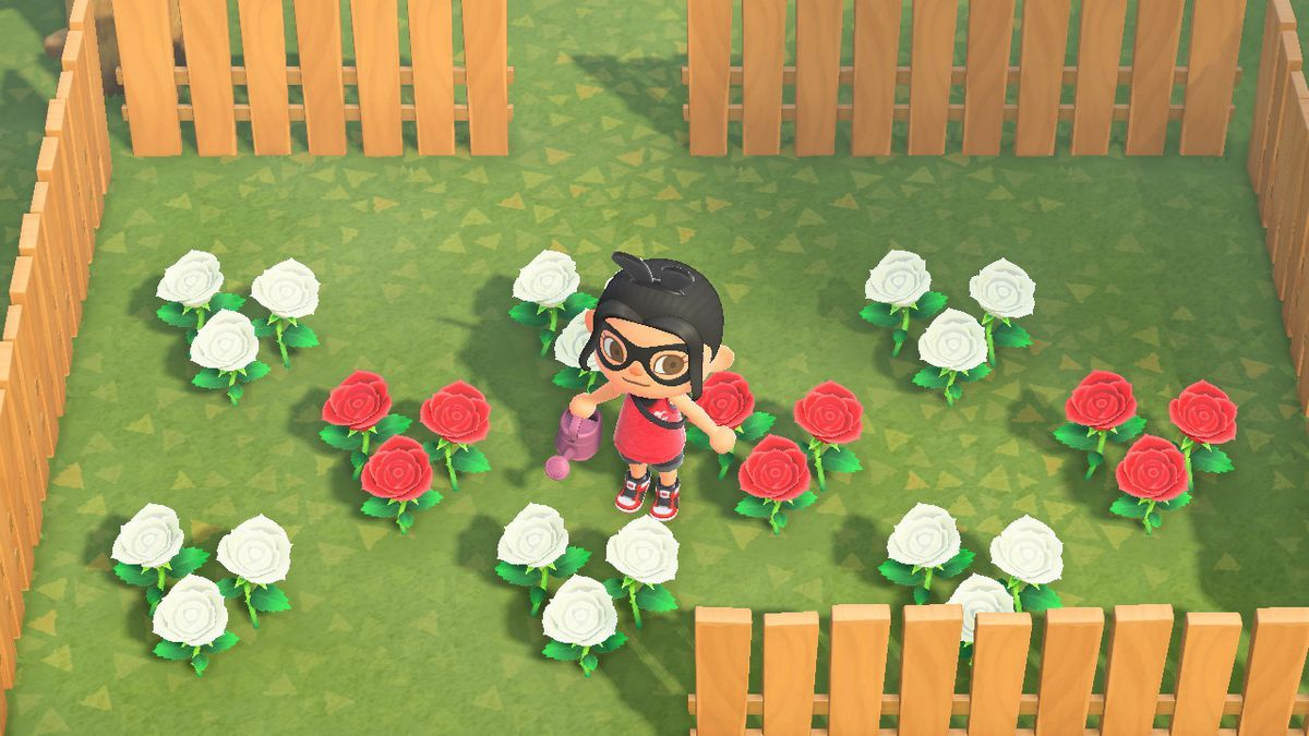 Animal Crossing New Horizons flowers and hybrids guide in