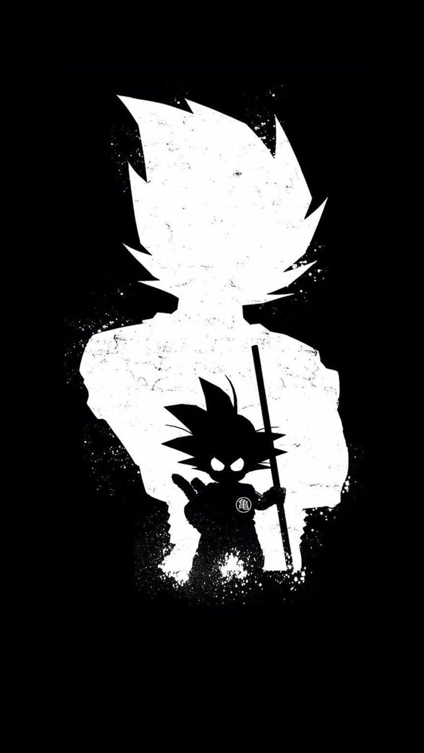 Goku Dark Black Minimal 4k Ultra Hd Mobile Wallpaper Anime Wallpaper Dragon Ball Wallpapers Goku Wallpaper