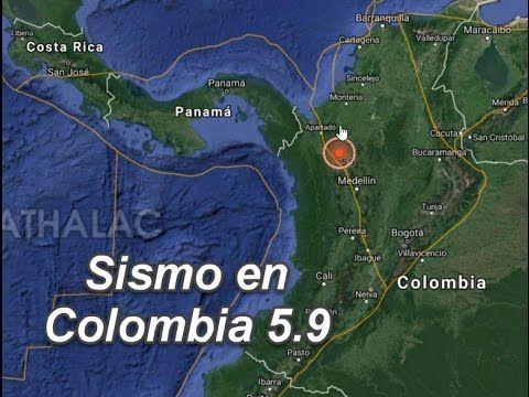 Colombia sismo de 5.9 se reporta que fue sentido en toda la ciudad