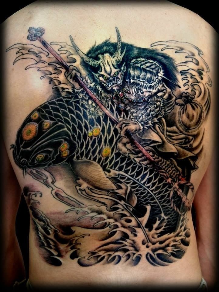 The Most Flavorful Pizzas In 2020 Japanese Water Tattoo Water Tattoo Tattoos