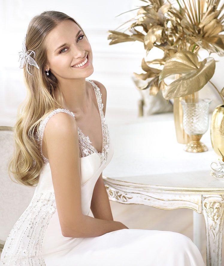 Pronovias Presents The Laherie Wedding Dress Fashion 2014